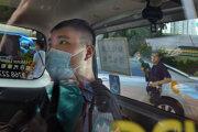 Tchung Jing-kit dorazil na súd.