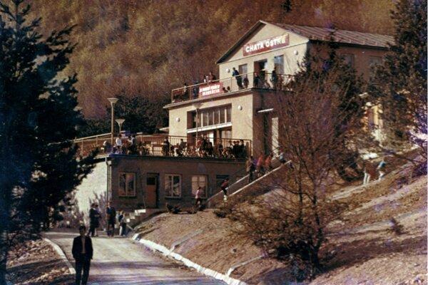 Chata zažívala svoju slávu aj v 70-tých či 80-tých rokoch.