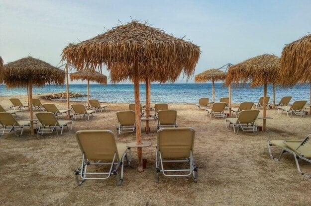 Pláž Messonghi