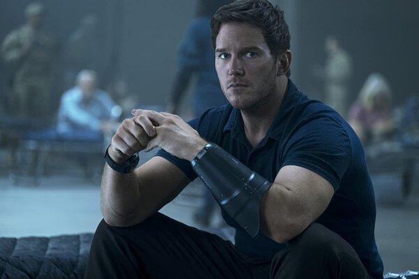 Chris Pratt vo filme The Tomorrow War.