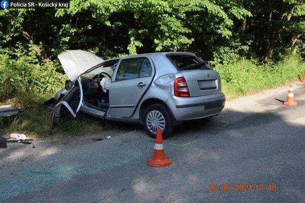 Nehoda sa stala v úiatok popoludní.