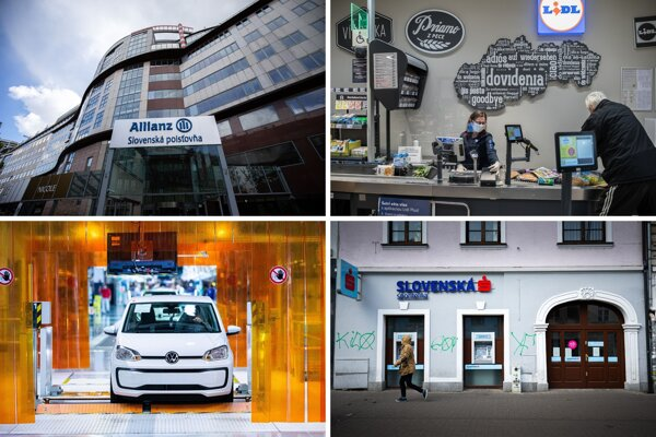 Štyri veľké korporácie – poisťovňa Allianz, maloobchodný reťazec Lidl, automobilový závod Volkswagen a Slovenská sporiteľňa – hovoria, že majú aj právnické pozície vhodné pre absolventov. Oplatí sa ich osloviť už počas štúdia.