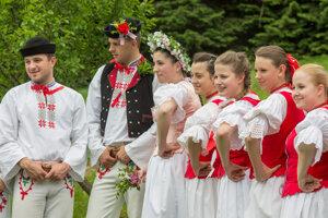 Tradičná svadba v Múzeu kysuckej dediny