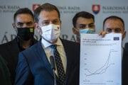 Očkovaciu lotériu predstavil minister financií Igor Matovič (OĽaNO).