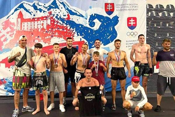 Výprava Warriors gymu Nitra na M-SR.