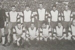 Hráči TJ Tatran Prešov v sezóne 1964/65.