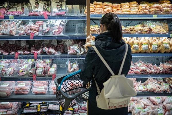 Opäť rástli aj ceny potravín.