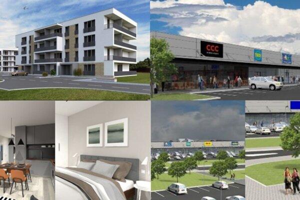 Viwo sa špecializuje na výstavbu nákupných centier.