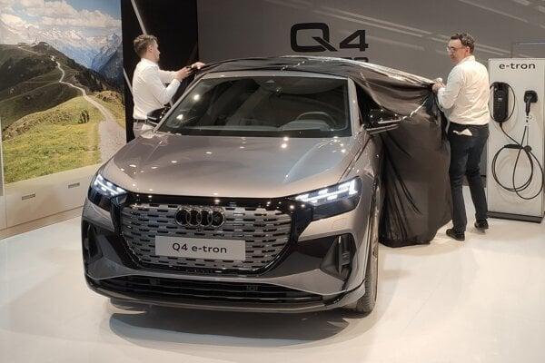Slovenská premiéra Audi Q4 e-tron.