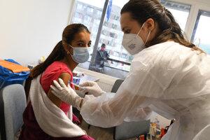 Očkovanie na sídlisku Luník IX.
