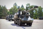 Nová 155 mm samohybná kanónová húfnica ZUZANA 2.