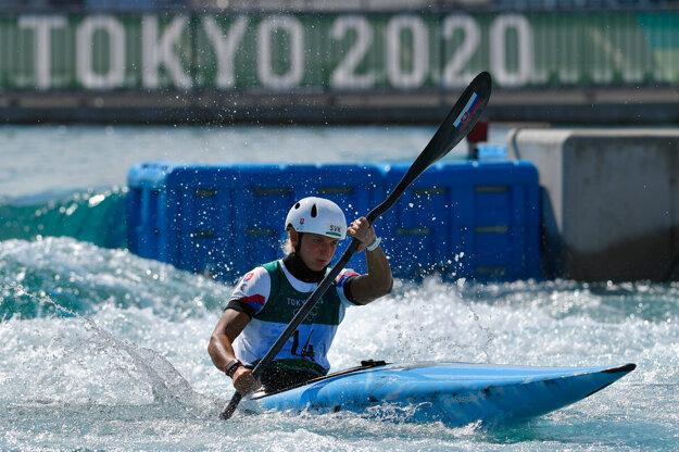 Eliška Mintálová na OH Tokio 2020 / 2021.