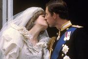 Princezná Diana a princ Chalres počas ich svadby