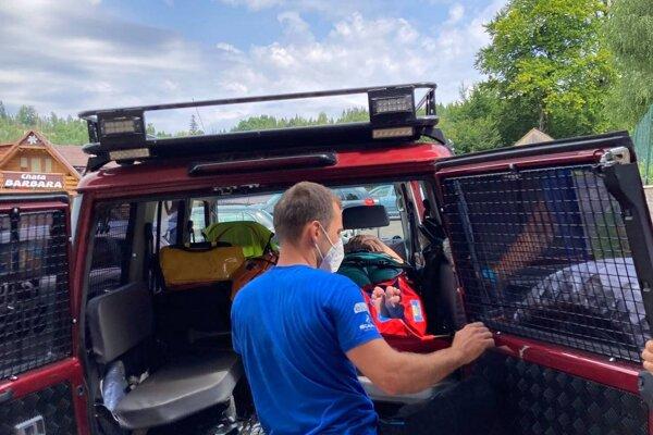 Horskí záchranári zasahovali na Kysuciach