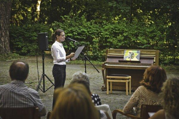 Česká sopranistka Lada Bočková na koncerte Odkazy II.