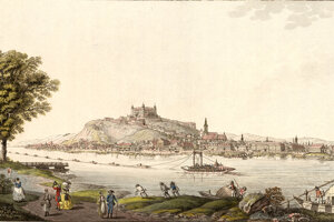 Joseph a Peter Schaffer: Pressburg (Bratislava) okolo roku 1800