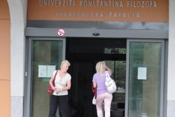 Prijímačky na Pedagogickú fakultu UKF v Nitre smerujú na súd.