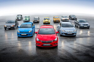 Opel Astra v roku 1991 nadviazala na úspešný model Kadett vyrábaný od roku 1936.