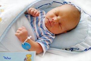 Peter Píš z Dolných Vesteníc sa narodil 16. 7. 2021 v Bojniciach