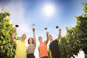 Vinár Milan Skovajsa podniká s celou rodinou.