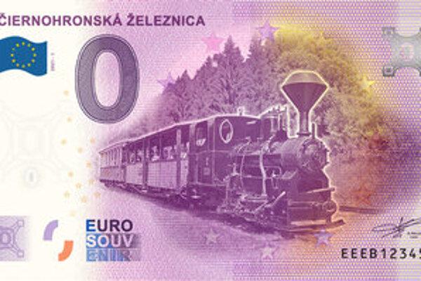 Suvenírová eurobankovka.