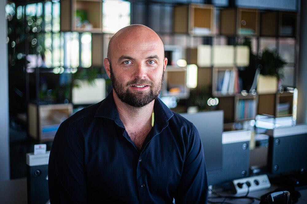 Tomáš Hegedűš, výkonný riaditeľ CBRE Slovensko