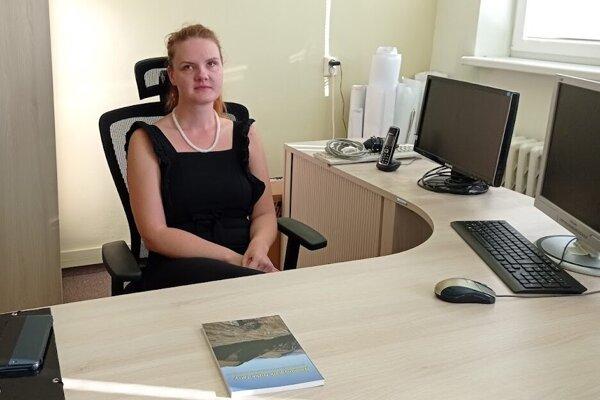 Nová riaditeľka NAPANTu, Sandra Popelářová.