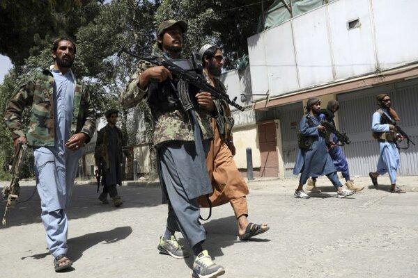 Členovia Talibanu.