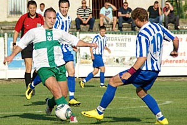 Veľký Meder hralo so Šuranmi bez gólov.