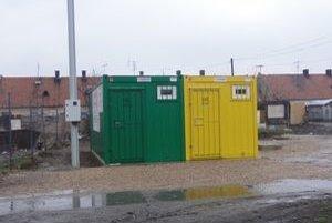 Hygienické zariadenia.