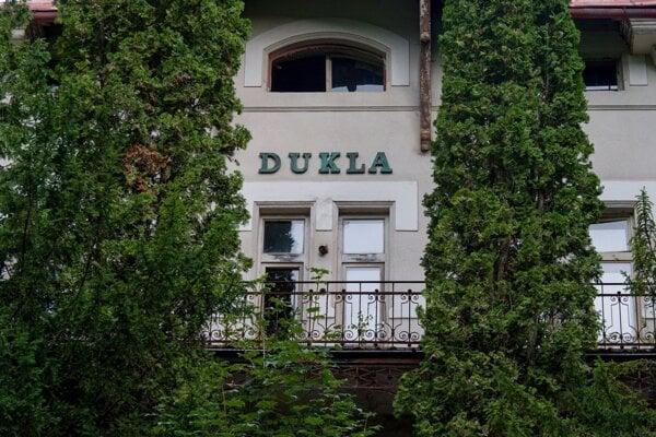 Liečebný dom Dukla v Bardejovských Kúpeľoch.