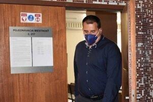 Branislav Paška na košickom súde po právoplatnom odsúdení za bitku v centre Košíc.