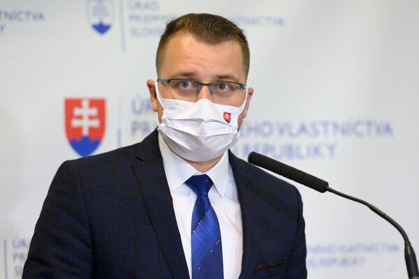 Šéf Úradu priemyselného vlastníctva Matúš Medvec.