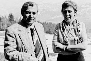 Manželia Edita a Laco Grosmanovci.