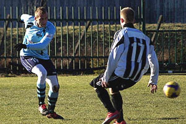 Petr Kaspřák v sobotu už hral za Nitru.