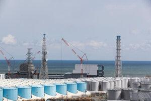 Pohľad na jadrovú elektráreň vo Fukušime.