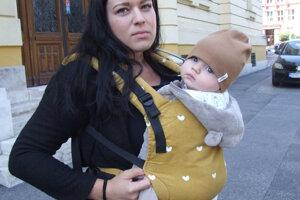 Dominika so 6,5-mesačným Maťkom.