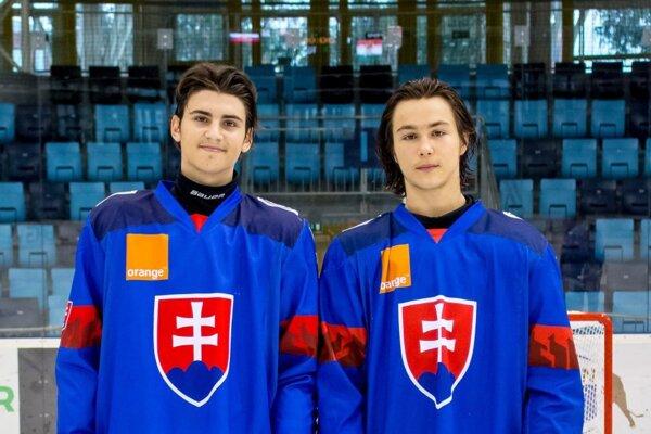 Zľava Viktor Petrík aMartin Mišiak.