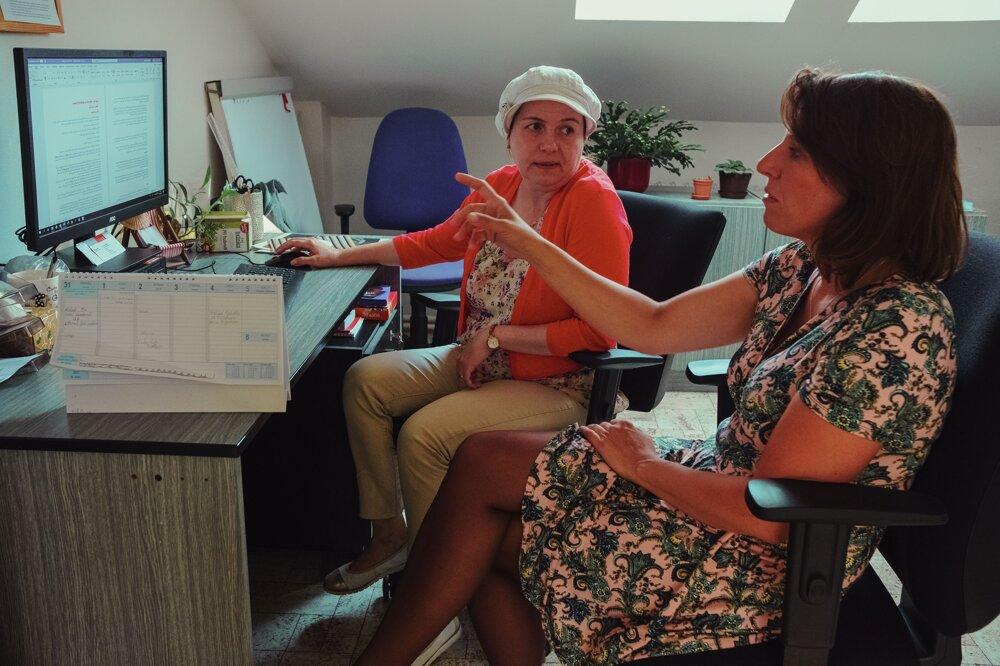 Lenka Šafránková Pavlíčková (vpravo) stála u zrodu interkultúrnej práce v Brne. Aj v jejprípade sa ukazuje, že úloha človeka, ktorý sa integrácie chopí, je kľúčová.