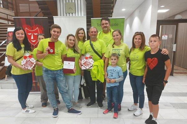 Divadelný súbor zo Žabokriek získal v národnej súťaži druhé miesto.