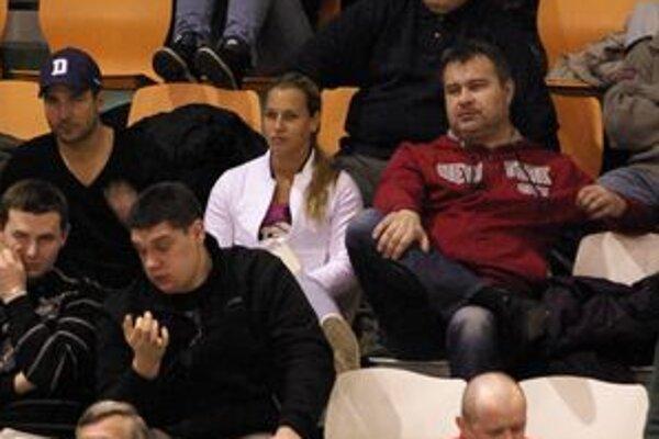 Dominika Cibulková prišla podporiť kamarátku Broňu Borovičkovú.