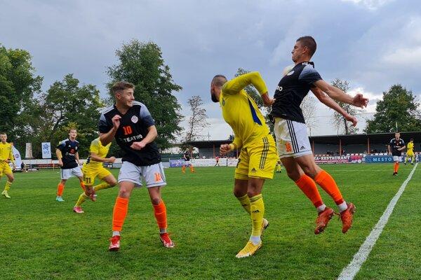 Zo zápasu 3. kola Slovnaft Cupu medzi MŠK Novohrad Lučenec a FC Košice