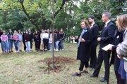 V Banskej Bystrici zasadili prvú lipu za obete pandémie nového koronavírusu.