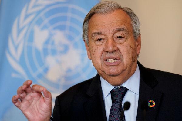Generálny tajomník OSN António Guterres.