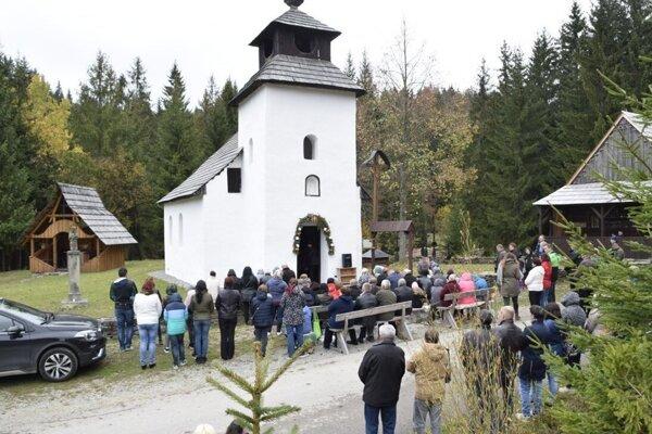 Omša bude pri kaplnke Ružencovej Panny Márie.