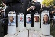 Fotografie piatich obetí z redakcie denníka Capital Gazette.