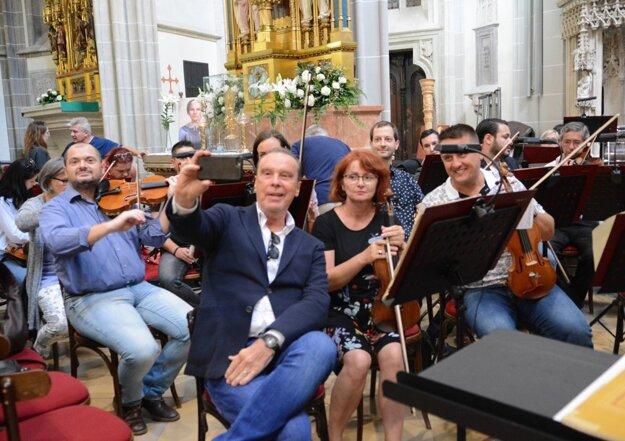 Štefan Margita stihol pred pandémiou aj koncert v Košiciach.
