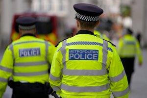 Britská polícia.