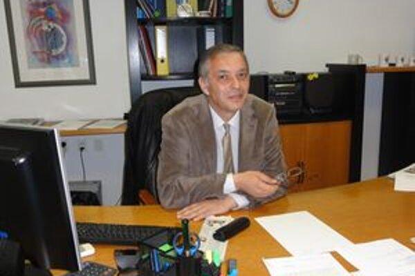 Gábor Rusznák, nový prednosta OÚ v Šali.