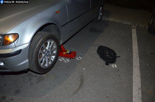 Zlodej chcel pred políciou ujsť, po pár metroch ho dobehli.